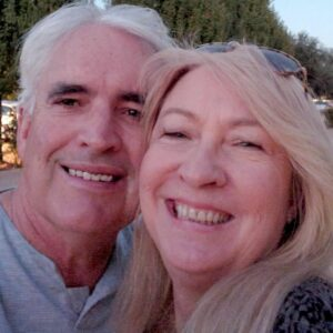 Alan ONeill, owner of Happy Campers RV Repairs with his wife, Carolyn