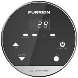 Furrion tankless water heater control panel