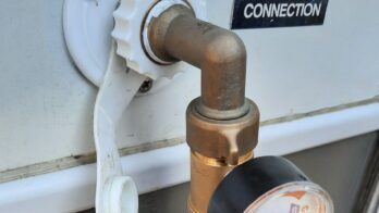 RV Water regulator to keep water pressure safe in your RV plumbing lines